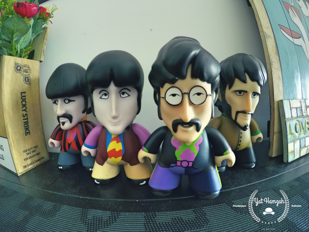 The Beatles Yellow Submarine Toys Action Figured Collection Liverpool Band Gopro 5